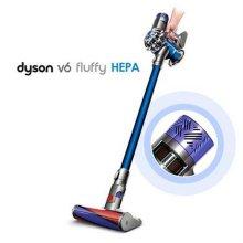스틱청소기 V6 플러피 헤파 FLUFFY HEPA [배터리 : 21.6V  / 먼지통 : 0.4L / 사용시간:MAX(100A/6분)일반(28AW/20분)]