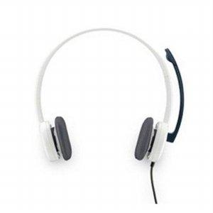 헤드셋 H150 (화이트) [인라인 오디오 컨트롤 / 유연한 회전식붐 / 깨끗한 통화품질]