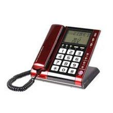 PC-820 CID 유선전화기 레드&블랙