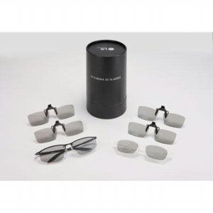 3D LED 안경 패밀리팩B(1BOX=6개) AG-F216CL [ 일반용2+클립형4 ]