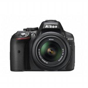 DSLR 카메라 D5300 [ 본품 + 18-55mm VRII + 8GB메모리+가방 증정 ]