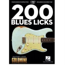 DVD 도서 200 Blues Licks DVD (00320929)