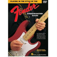 DVD 도서 Playing In The Style Of The  Stratocaster Greats