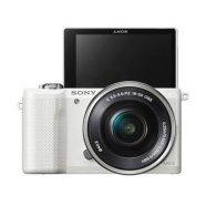 [상품권 2만원 증정] 미러리스 카메라 알파 A5000 [ 화이트 / 본체 + 16-50mm / 16GB메모리+가방 증정 ]