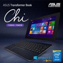 (지점전시상품) 트랜스포머북 T100CHI (블루투스 도킹키보드 / 윈도우8.1 / 오피스365 탑재)