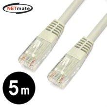 NETmate CAT.6 UTP다이렉트 케이블 5m
