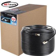 NETmate CAT.7 UTP다이렉트 케이블(블랙) 100m