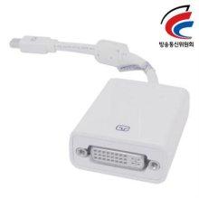 NETmate Mini DisplayPort to DVI 젠더(White)