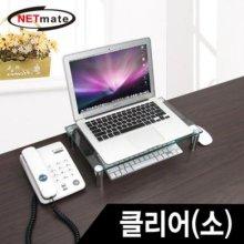 NETmate 다용도 강화유리 받침대(클리어/소)