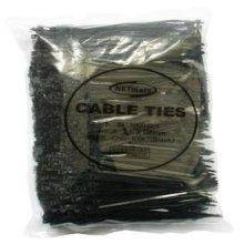 NETmate 타이(Tie) 흑색 100m/m 1봉지(1000개)