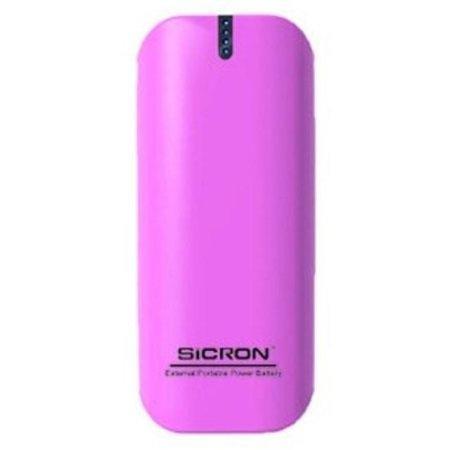시크론 보조배터리 EBP-60 (핑크) [5200mAh / LED 4단계 잔량표시 LED후레쉬기능]