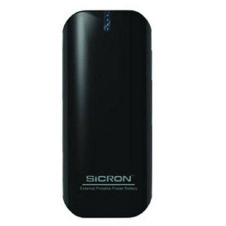 시크론 보조배터리 EBP-60 (블랙) [5200mAh / LED 4단계 잔량표시 LED후레쉬기능 ]