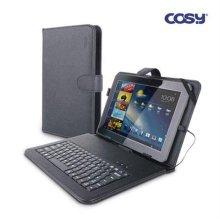 COSY 태블릿 키보드 케이스(10인치형) [태블릿PC케이스/ 안드로이드 2.2이상/ 키보드케이스, USB포트 2개]KB1217CS