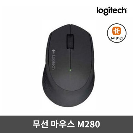 무선마우스 M280 [ 블랙 ] [로지텍코리아정품]