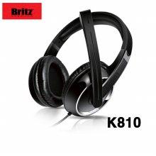 블루투스 헤드셋 K810 CRE-0092 [편안한 가죽 이어캡 / 다이나믹한 사운드 / 고급스런 인클러져]