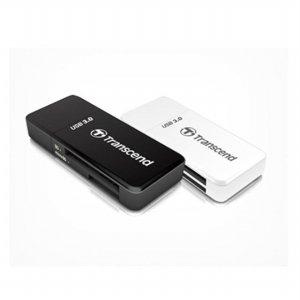 트랜샌드 멀티카드리더기 (TS-RDF5K(검정),TS-RDF5W(흰색)) [USB 3.0 인터페이스 / USB 3.0 외장하드 지원]