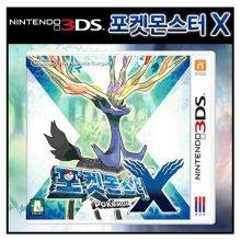 3DS 포켓몬스터X CTR-P-EKJK-KOR [RPG]