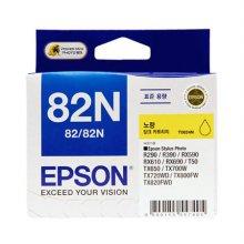 ◆정품◆ EPSON 정품 잉크(82N) T0824N (노랑)