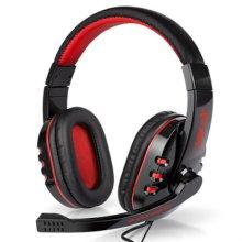 XECRET 스테레오 게이밍 헤드셋 XG-7000H [ 40mm 대형 유닛 / 회전식 마이크 / 편안한 착용감 / 튼튼한 내구성 ]