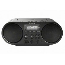 소니 CD플레이어/라디오[블랙][ZS-PS50]
