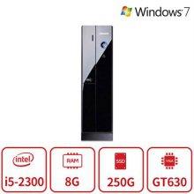 블랙슬림 게이밍 데스크탑 Z40시리즈 [I5 2300/8G/SSD250/GT630/DVD/Win7 64] 리퍼
