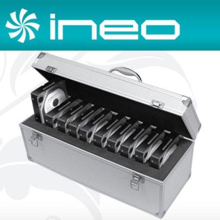 "ineo 알루미늄 하드디스크 보관함(3.5"" 10Bay) (I-NC10)"