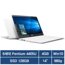 35.5cm 980그램 노트북 14Z960-LR10K [펜티엄 프로세서 4405U/4GB/SSD 128GB/인텔 HD 그래픽스 510 (내장형)/Windows 10 (64비트)/980g]