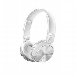블루투스 헤드폰 SHB-3060/WT [색상:화이트 / 강력한 무선 베이스 / 음악감상중 통화 전환 가능]