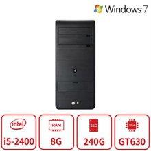엑스피온 게이밍 데스크탑 B5시리즈 (I5 2400/8G/SSD 240G/GT630-1G/DVD롬/Win7 64bit/) 리퍼