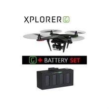 자이로 드론 엑스플로러 G+배터리 SET [XPLORER-G-B-SET / 간편하고 쉬운 비행 / 모듈화된 구조]