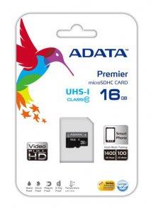 Premie microSDHC (16GB) UHS-1 CLASS10