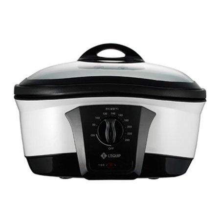 멀티쿠커 LC-81 [8가지 요리기능 / 자동 온도 조절 / 알루미늄내솥 / 튀김망, 찜틀 포함]