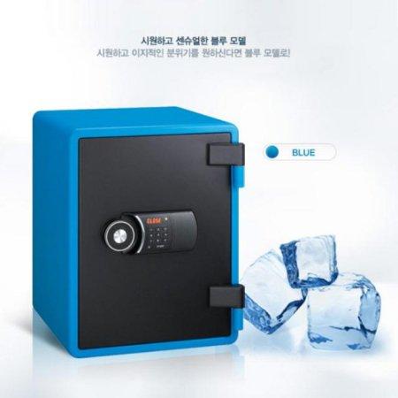 [무료배송] 디지털 내화금고 YES-031D [블루]