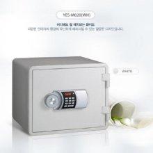 [무료배송]디자인 디지털 내화금고 YES-M020 [화이트]