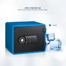 [무료배송]디자인 디지털 내화금고 YES-M020 [블루]