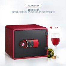 [무료배송]디자인 디지털 내화금고 YES-M020 [레드]