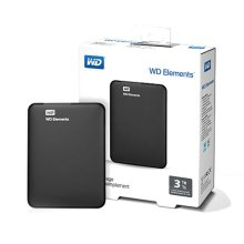 NEW WD Elements Portable USB3.0 [ 블랙 / 외장HDD / 2TB / USB 3.0 ]