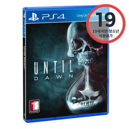 PS4 언틸던(Until Dawn) PCKS92013 [ 게임 CD / 청소년이용불가 ]