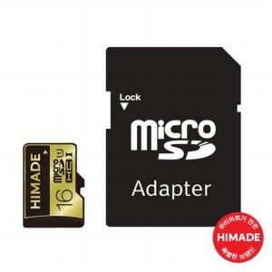 마이크로SD HIMCFL-T016G [ 16GB / 아답터 추가 / 1080P FULL-HD,3D AND 4K VIDEO ]