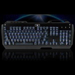 기계식 키보드 CRG-0121 [ WHITE LED / 기계식 청축 스위치 / 무한동시 입력키 지원 ]