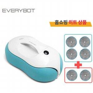무선 전자동 물걸레 로봇청소기 RS500 [물걸레 패드 기본구성 4장 + 2장(추가증정) / 150분 충전 50분사용]