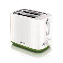 데일리 콜렉션 토스터 HD-2596 [800W / 7단계 굽기조절 / 리프트기능 / 빵 데우기 거치대 포함]