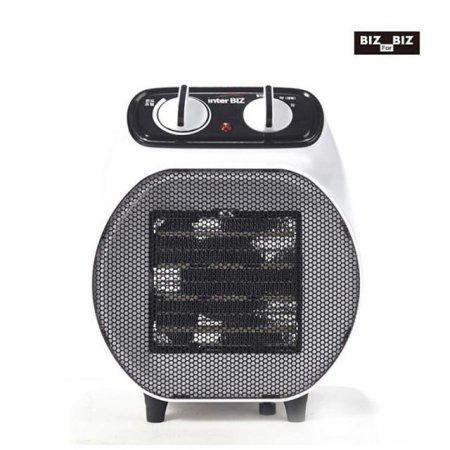 PTC 전기온풍기 + 캠핑겸용/전용가방 (화이트)