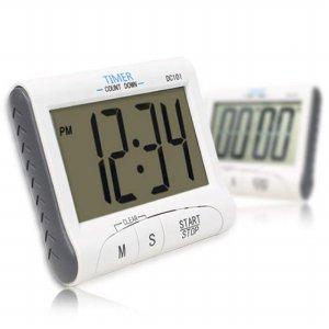 시간배분 연습용 시계기능 타이머 BIG LCD TIMER