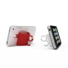 mugmug 휴대폰 거치대 및 다기능 홀더 레드