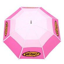 이중방풍 골프우산 화이트/핑크