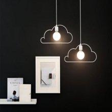 LED 구름2등 펜던트 - 2color 화이트-주광색(하얀빛)
