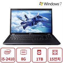 비즈니스 노트북 A5시리즈 (코어i5-2410/8G/1TB/DVD멀티/HD3000/15인치/Win7) 리퍼