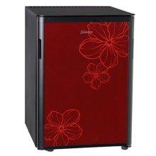 무소음 냉장고 WC-40C(RF) [40L/100% 무소음, 무진동/레드]