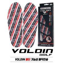 [헤드업/스웨이방지]VOLDIN 볼딘 기능성 매진인솔 골프화 깔창-1족세트 230